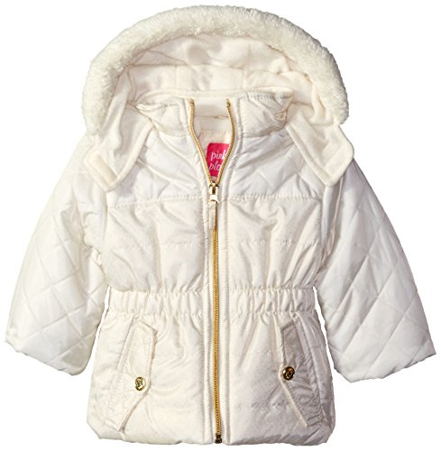 pink-platinum-girls-infant-quilted-puffer-jacket-mixed-with-spray-foil-cream-24-months