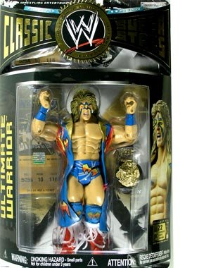 WWE Classic Super Stars Series 12 Ultimate Warrior Action Figure by WWE