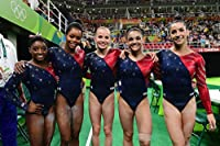 Women's Gymnastics Olympic Team USA Biles Raisman Douglas Hernandez Sports Poster Photo Limited Print Sexy Celebrity Athlete Size 11x17 #1
