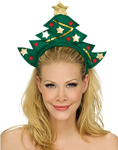 Rubie's Costume Co X-Mas Tree Headband (Costume Christmas Tree)