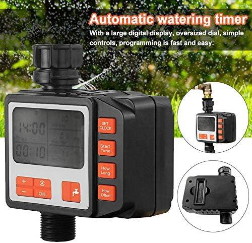 Automatischer Wassertimer, Bewässerungs-Timer für den Außenbereich mit zeitgesteuerter Bewässerung Wasserhahn-Timer-Steuerung für die Tropfbewässerung von Gartensprinklern