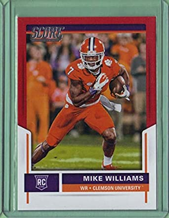 huge selection of 3d127 eb4df 2017 Score Red #369 Mike Williams - Rookie Year at Amazon's ...