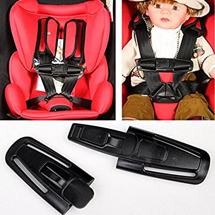 Arrival Car Baby Seat Strap Belt Harness Chest Clip Buckle Latch Nylon PA66 By QCMALL