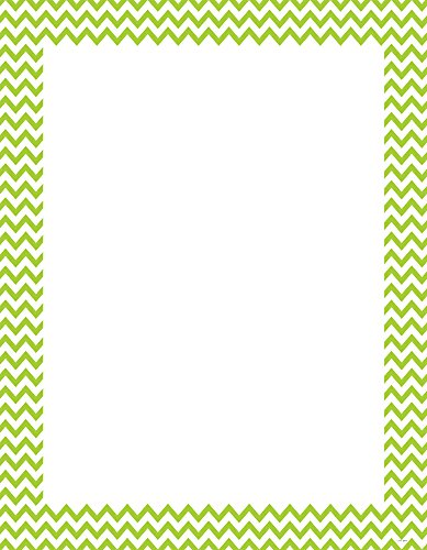 Creative Teaching Press Lime Green Chevron Poster Chart (0968)