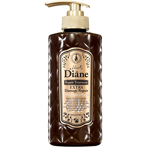 Moist Diane Oil Treatment EXTRA Damage Repair 500ml/17.6 fl.oz.