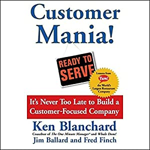 Customer Mania! Audiobook
