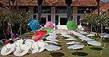 Home Comforts LAMINATED POSTER White Umbrellas Thai Asia Thailand Parasols Poster 24x16 Adhesive Decal