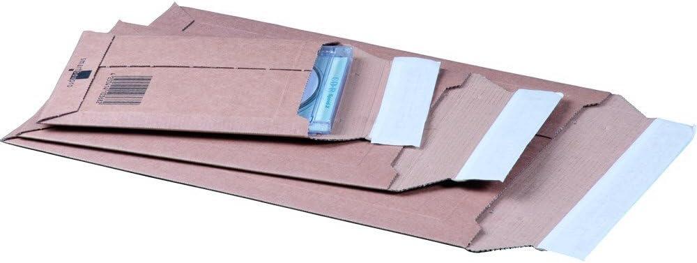 C4+ Wellpappe 100St/ück karton-billiger Versandtaschen aus Karton