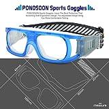 PONOSOON Sports Goggles Glasses for Basketball