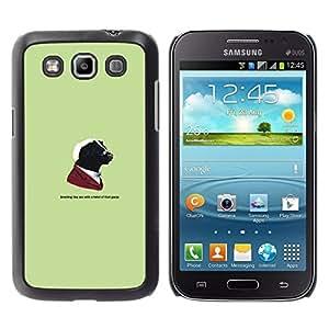Caucho caso de Shell duro de la cubierta de accesorios de protección BY RAYDREAMMM - Samsung Galaxy Win I8550 - Gangster Skunk animal divertida