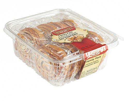 Yummy's Bakery Fresh Baked Grab 'N Go Pastry Snacks - Individually Wrapped Dessert Packs for On the Go Convenience - 16 oz. - (Cinnamon) (Amazon Fresh Delivery Service compare prices)