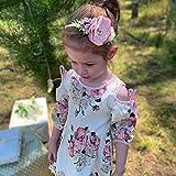 VOBOBE Baby Girl Nylon Headbands Infant Flower