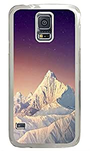 Samsung Galaxy S5 landscapes nature snow mountain26 PC Custom Samsung Galaxy S5 Case Cover Transparent