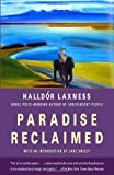 Front cover for the book Paradise Reclaimed by Halldór Laxness