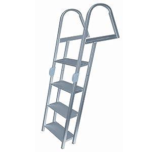 Dockmate Folding Dock Ladder, 4-Step