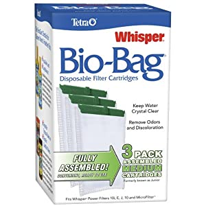 Tetra Whisper Assembled Bio-Bag Filter Cartridges for Aquariums 15