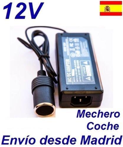 Cargador Coche Mechero 12V Reemplazo Aspiradora Black & Decker PV1200AV PV1200AV-XJ Recambio Replacement