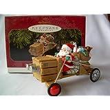The Claus-Mobile Here Comes Santa 19th in Series 1997 Hallmark Ornament QX6262