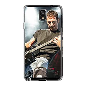 Shock-Absorbing Hard Cell-phone Cases For Samsung Galaxy Note3 With Custom Stylish Three Days Grace Image EricHowe