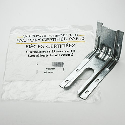 Whirlpool W10838686 Range Stove Oven Anti-Tip Bracket (Anti Tip Bracket For Oven compare prices)