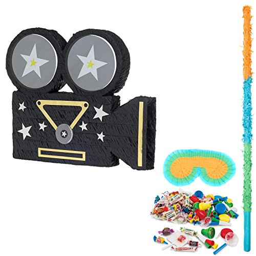 BirthdayExpress Movie Party Supplies Camera Pinata]()
