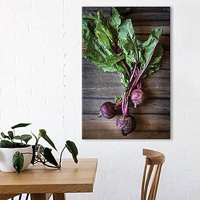 Classic Artwork, Amazing Visual, Radishes on Wooden Background