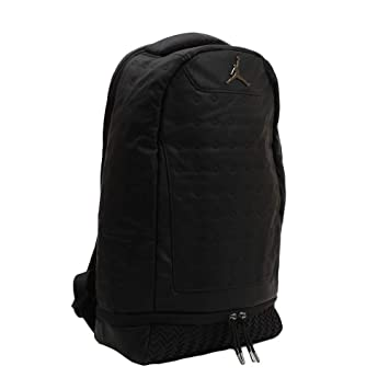 48d9581f18f Amazon.com: Nike Air Jordan Retro 13 Backpack - Black 9a1898 023: Blue-Jean