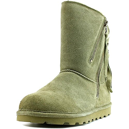 Bearpaw Womens Mimi: 8 In. Boot (Olive, 8) by Bearpaw