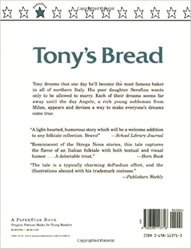 Tony's Bread (Paperstar Book): Tomie dePaola: 9780698113718 ...