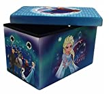 Disney Frozen 24 Multi-Functional Folding Storage Bench with 200 lb Weight Support Capacity by Disney Frozen