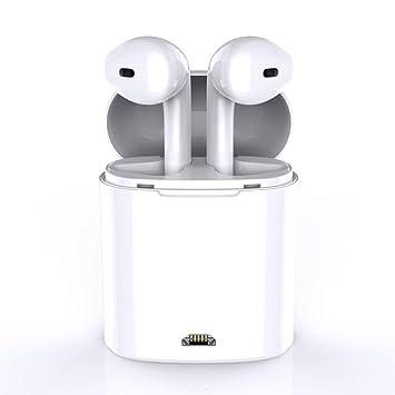 Auriculares inalámbricos Bluetooth TWS, BAIYI auriculares estéreo con cargador, altavoz Apple iPhone 8 8plus
