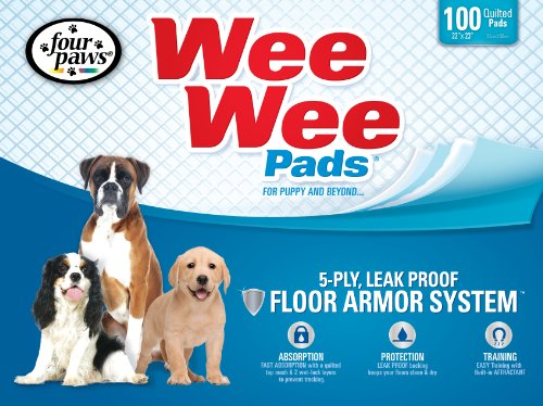 Puppy Training Mat (Four Paws Wee-Wee Pet Training and Puppy)