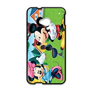 Happy Mickey mouse Case Cover For HTC M7