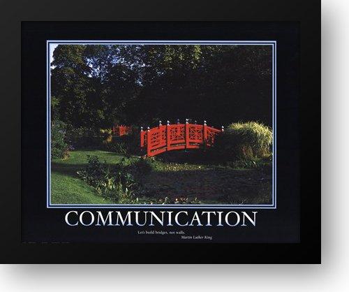 Motivational - Communication 18x15 Framed Art Print Communication Framed Motivational Print