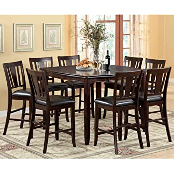 Superieur 247SHOPATHOME IDF 3336PT 9PC SET Dining Room, 9 Piece Set