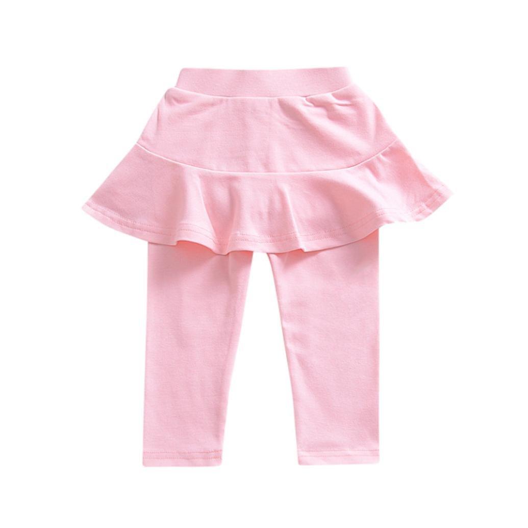For 1-5 Years Old Kids , Xshuai® Fashion Infant Trendy Leg Warmer Toddler Newborn Baby Girls Skirt-Pants Solid Trousers Legging