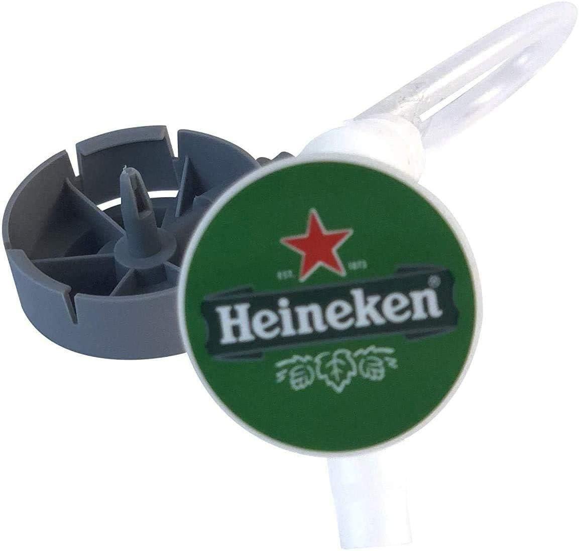Juego de tubos Beertender para tirador de cerveza – Bomba de cerveza para conectar su barril a la bomba {máquina Krups/SEB} (20 tubos)