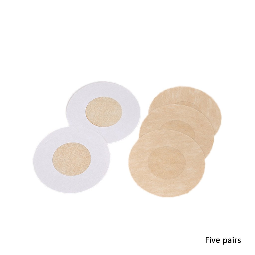 Autone 10PCS Breast Nipple Cover Pasties Bra Adesivi USA e Getta Invisibile New