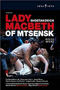 Schostakowitsch dimitri lady macbeth von mzensk 2 dvds for Alexandre jardin amazon
