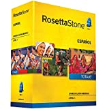 Rosetta Stone(R) Spanish (Latin America) TOTALe(TM) V4, Level 1, For PC/Mac, Traditional Disc