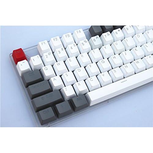 YUEYU 17 Key RGB Top Printed PBT Shot Backlit Keycap for Cherry MX Switches Mechanical Keyboard Numpad