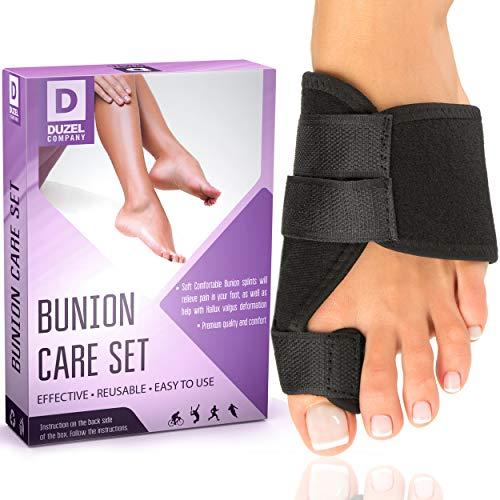 Bunion Splints Bunion Corrector - Big Toe Straightener Bunion Splint - Corrector Bunion - Bunion Brace for Hallux Valgus Bunion Pain Relief
