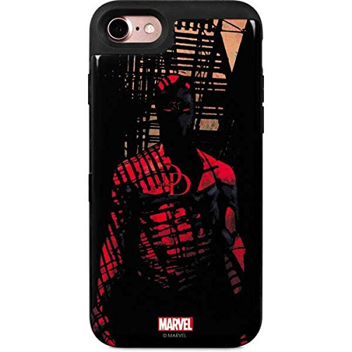 Daredevil iPhone 8 Case - Daredevil Hides In The Shadows | Marvel X Skinit Wallet Case ()