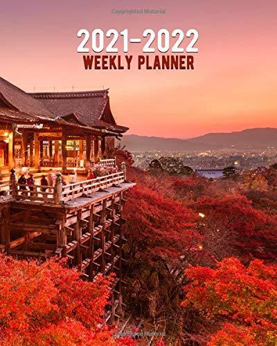 Amazon.com: 2021 2022 Weekly Planner: Japanese Kiyomizu dera