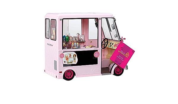 Amazon.es: Our Generation 44718 Sweet Stop - Camión de Helado para muñecas: Juguetes y juegos