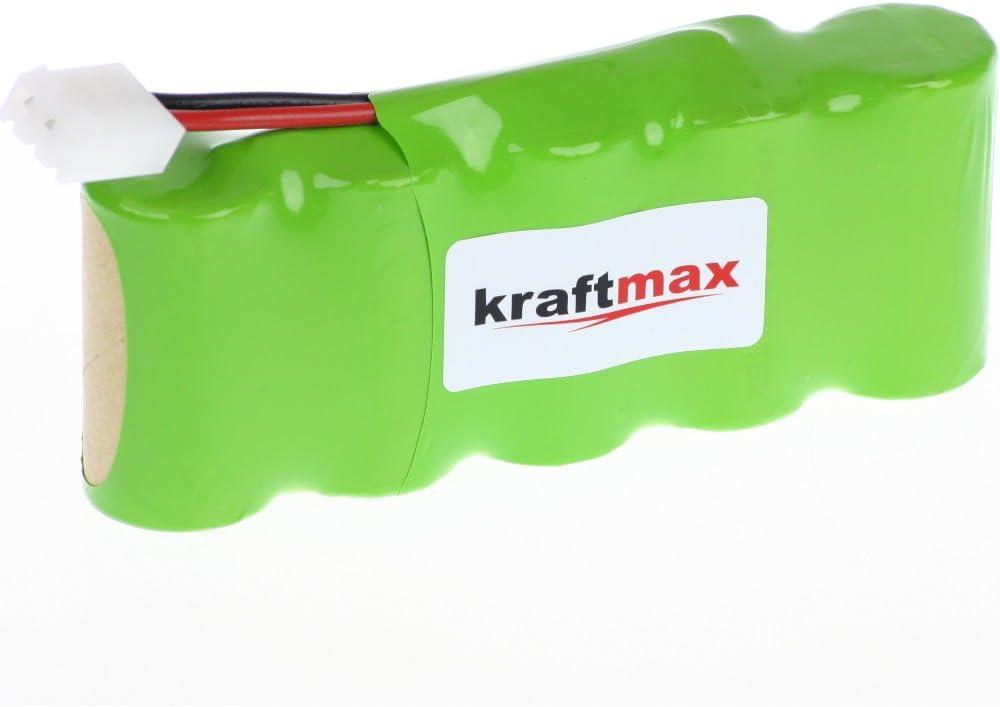 Batería para BOSCH SOMFY K8/K10/K12/todos los Roll-Lift y easy-lift - 3000 mAh batería de alto rendimiento de Kraftmax [NIMH - Green-line] batería de celdas de alta calidad con la mejor calidad