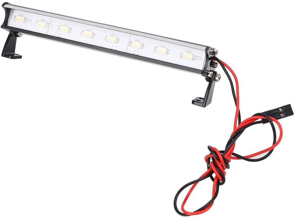 Furnoor Barra de luz RC, luz de Techo con 8 LED 115mm Barra de luz ...