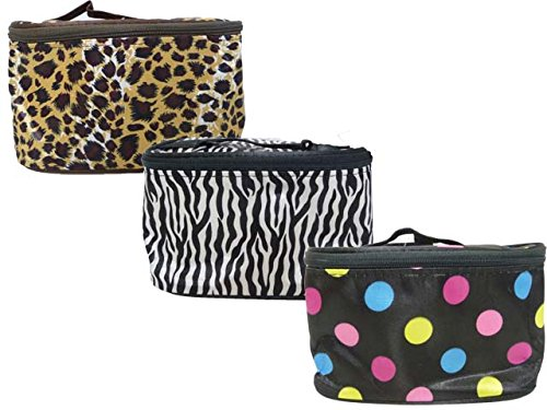 COSMETIC BAG 17*11*10CM, Case of 144 by DollarItemDirect