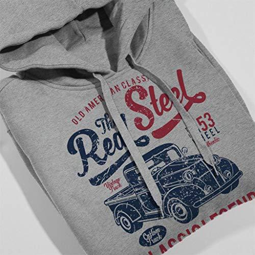 Up Grey Women's Heather Coto7 Hooded The Sweatshirt Real Truck Pick Steel xA7wIfq7v