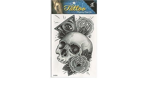 Una vez Tattoo resistente al agua Piel Cuerpo Negro Blanco ...